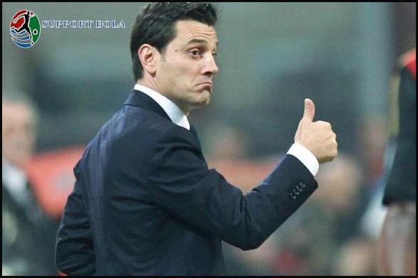 Kembali Mengalami Kekalah, Allenatore AC Milan Montella Minta Maaf