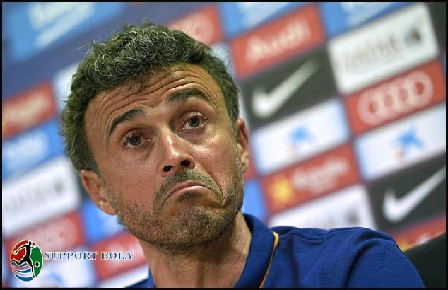Mendapat Banyak Kartu Merah, Luis Enrique Sedikit Khawatir Menjelang Final