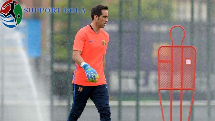"""Bravo Lebih Tertekan Di Barcelona,""""Ungkap Guardiola"""