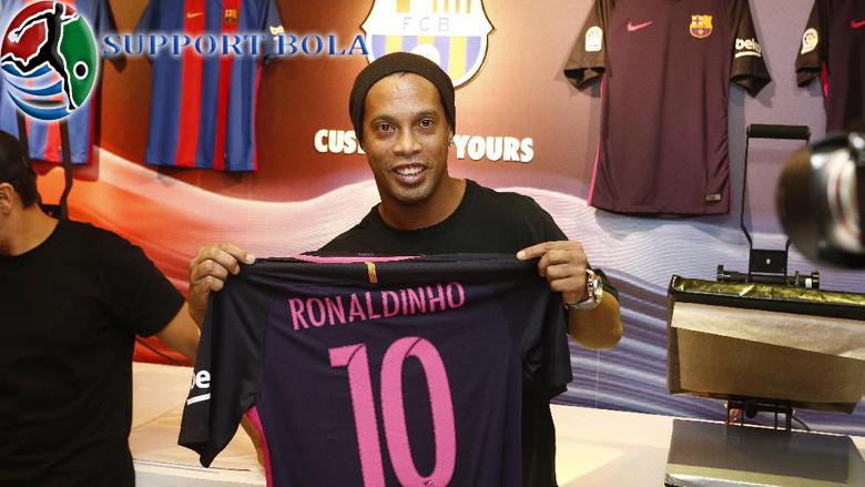 Ronaldinho : Mugnkin Jumlah Gol Saya Bisa 2 Kali Lipat Jika Bermain Bersama MSN
