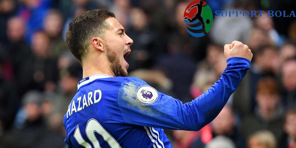 Conte Apresiasi Penampilan Super Dari Eden Hazard