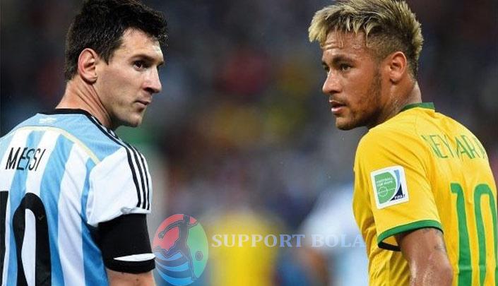 Kualifikasi Piala Dunia di Melbourne Messi Menjadi Rival Neymar