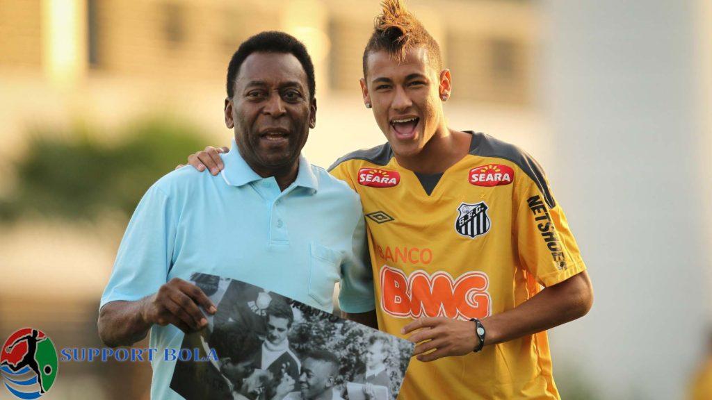 """Mungkin Neymar Akan Bisa Jadi Lebih baik Dari CR7,""""Ungkap Pele"""