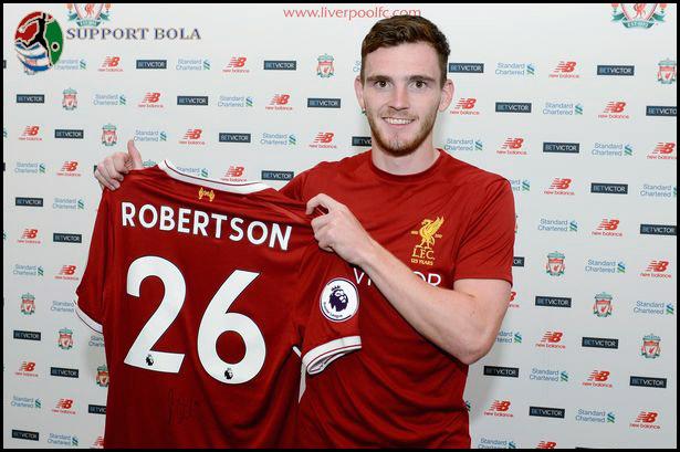 Andy Robertson Resmi Bergabung, The Reds Sambut Kedatangan Solanke