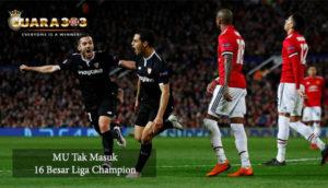 MU Tak Masuk 16 Besar Liga Champion