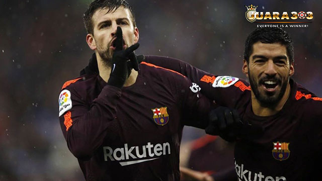 Dua Pemain Barcelona