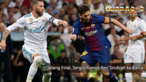 kapten real madrid sindir barcelona jelang final liga champions - agen bola piala dunia 2018