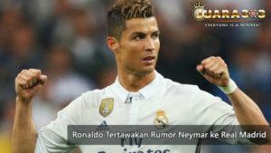 ronaldo ejek rumor kedatangan neymar ke real madrid - agen bola piala dunia 2018