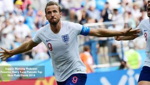 harry kane puncaki top skor - agen bola piala dunia 2018