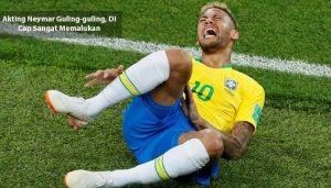 akting neymar guling-guling - agen bola piala dunia 2018