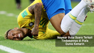 neymar buka suara terkait tindakannya - agen bola terpercaya