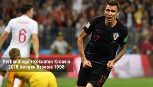 kroasia 2018 dengan kroasia 1998 - agen bola piala dunia 2018