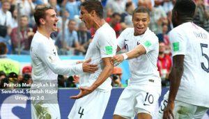 prancis melangkah ke semifinal - agen bola piala dunia 2018