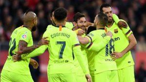 Hasil Pertandingan Girona vs Barcelona